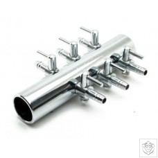 6-Way Steel Manifold