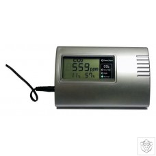 OptiClimate CO2 Monitor with RH and Temperature Sensor