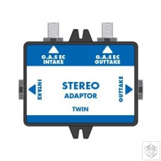GAS Stereo Adaptor Twin Global Air Supplies (G.A.S.)