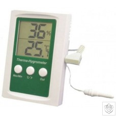 Thermo-Hygrometer Max/Min & Alarm Function N/A