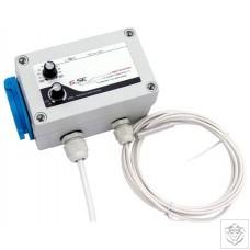 GSE Temperature and Minimum Speed Controller
