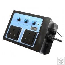Vortex Twin Speed Thermostatic Fan Speed Controller Vortex
