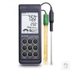 HI-9126N Waterproof pH/ORP Meter with CalCheck