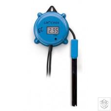 HI-983302N Gro'chek EC Meter, 0.00 to 9.99 mS/cm Hanna