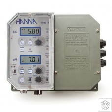 HI-9914-2 Wall Mounted pH and Conductivity Controller