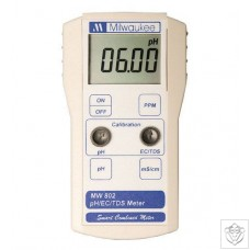 MW802 pH & Conductivity Combination Meter