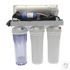 Pumped Reverse Osmosis Filter 4 Stage Unit - 190L Per Day