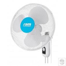 """RAM 400mm (16"""") Wall Fan - 3 Speed"""