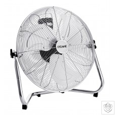 "12"" Cyclone Chrome Floor Fan Cyclone"