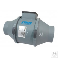 RAM Mix Flow Inline Fans with IEC Lead