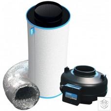 "6"" 150mm RVK Fan & RAM Air Carbon Filter Kit (428m³/hr)"