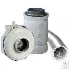 "4"" 100mm Can-Fan & Can-Lite Carbon Filter Kit (270m³/hr)"