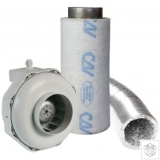 "5"" 125mm Can-Fan & Can-Lite Carbon Filter Kit (350m³/hr)"
