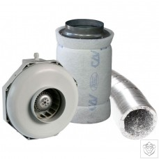 "6"" 150mm Can-Fan & Can-Lite Carbon Filter Kit (470m³/hr)"