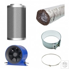 Hyper Fan V2 / CarboAir / Acoustic Ducting Extraction Kit
