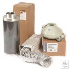 Rhino Pro Silver 5 Metre Ducting Kits
