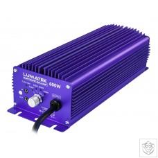 Lumatek 600W 240V Controllable Ballast