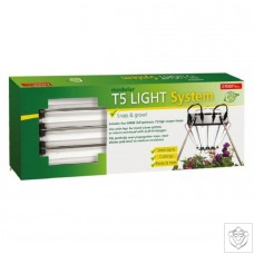 Complete 4 Tube T5 Light System 96W