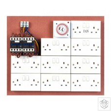 Contactor Board Double 16/18 40A