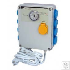 Timer Box II 8x600W with Heating Socket