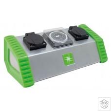 2 Socket Contactor Timer 13A