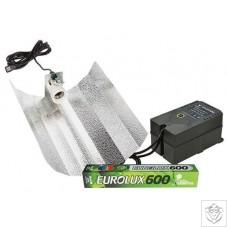 600W Eurolux Euro Reflector Grow Light Kit