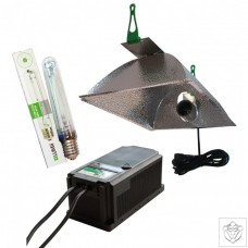 600W Dual Core Ballast With OPTii Reflector And 600w SunBlaster HPS Lamp