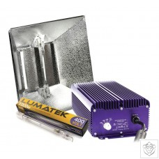 Lumatek PRO MIRO 1KW DE Grow Light Kit (Hammertone)