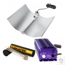 600W Adjust-a-Wing Lumatek Digital Grow Light Kit Lumatek