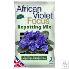 African Violet Focus Repotting Mix 2 Litres Growth Technology