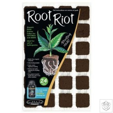 Root Riot - Tray of 24 Growth Technology