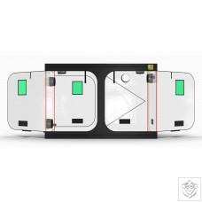 LED-Qube V: LQ1530L - 150 x 300 x 220cm Green Qube