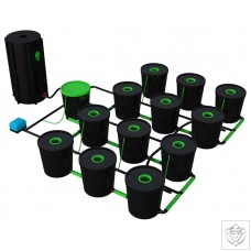 12 Pot Deep Water Culture DWC System