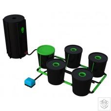 4 Pot Deep Water Culture DWC System