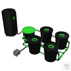 XL 4 Pot Deep Water Culture DWC System