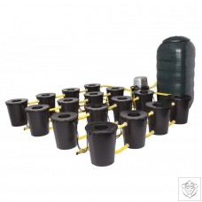 DWC 16 Potz System with 250L Tank