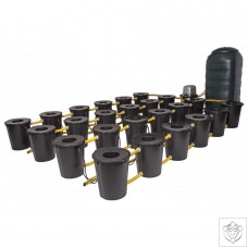 DWC 24 Potz System with 250L Tank