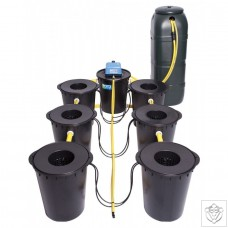 DWC 6 Potz System with 100L Tank