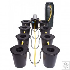 DWC 8 Potz System with 100L Tank