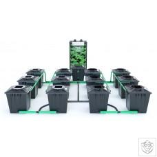 ALIEN RDWC 12 Pot 20L Black Series