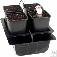 The Wilma 4 Pot Bioponics Drip System Nutriculture