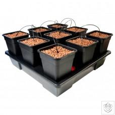 New Wilma XXL Square 9 Complete - 18 Litre Pots
