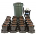 24 Pot IWS Flood and Drain System Nutriculture