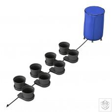 GoGro 15L 8 Pot System - 100L Flexible Tank