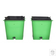 Green Man Flood & Drain Kit 2 Pot Package