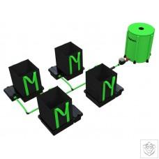 4 Pot XL 30L EasyFeed System EasyFeed