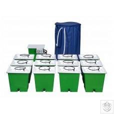 Green Man 12 Combi (FLEX) System - 12 Pot Green Man System
