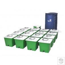 Green Man 16 Combi (FLEX) System - 16 Pot Green Man System