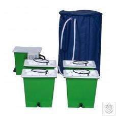 Green Man 4 Combi (FLEX) System - 4 Pot Green Man System