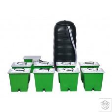 Green Man 8 Combi (FLEX) System - 8 Pot Green Man System